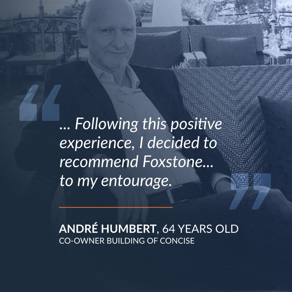 Testimony of André Humbert, co-owner of the Concise building
