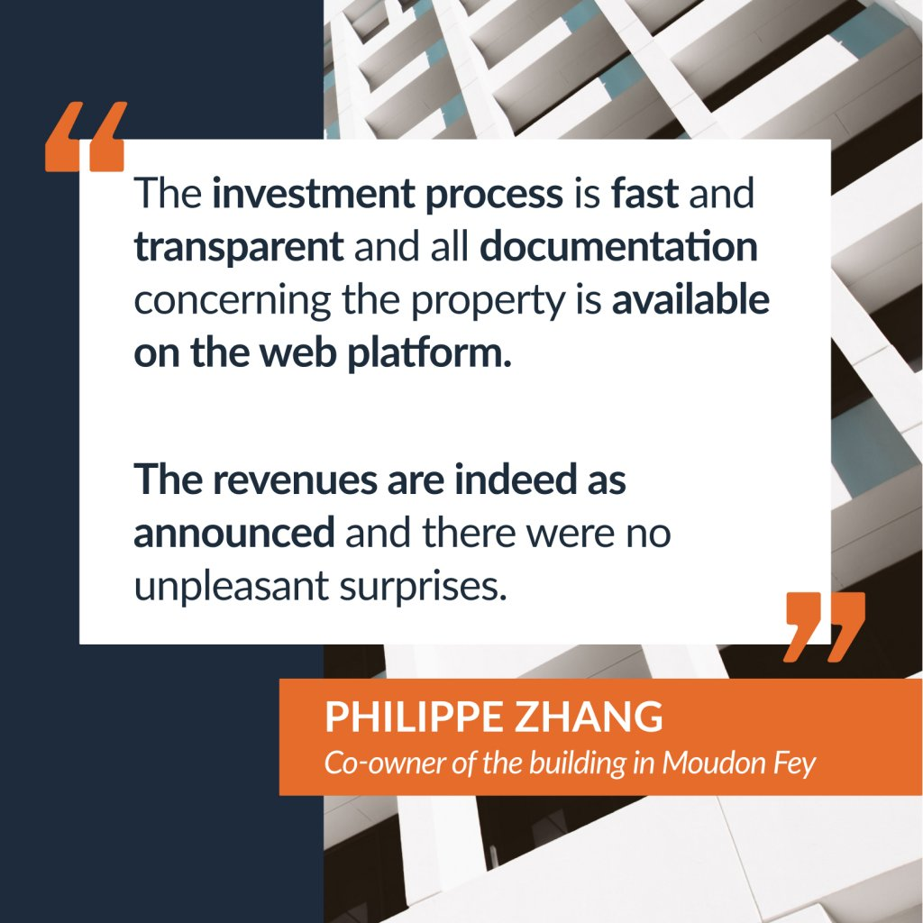 Testimony of Philippe Zhang, co-owner of the Moudon Fey building