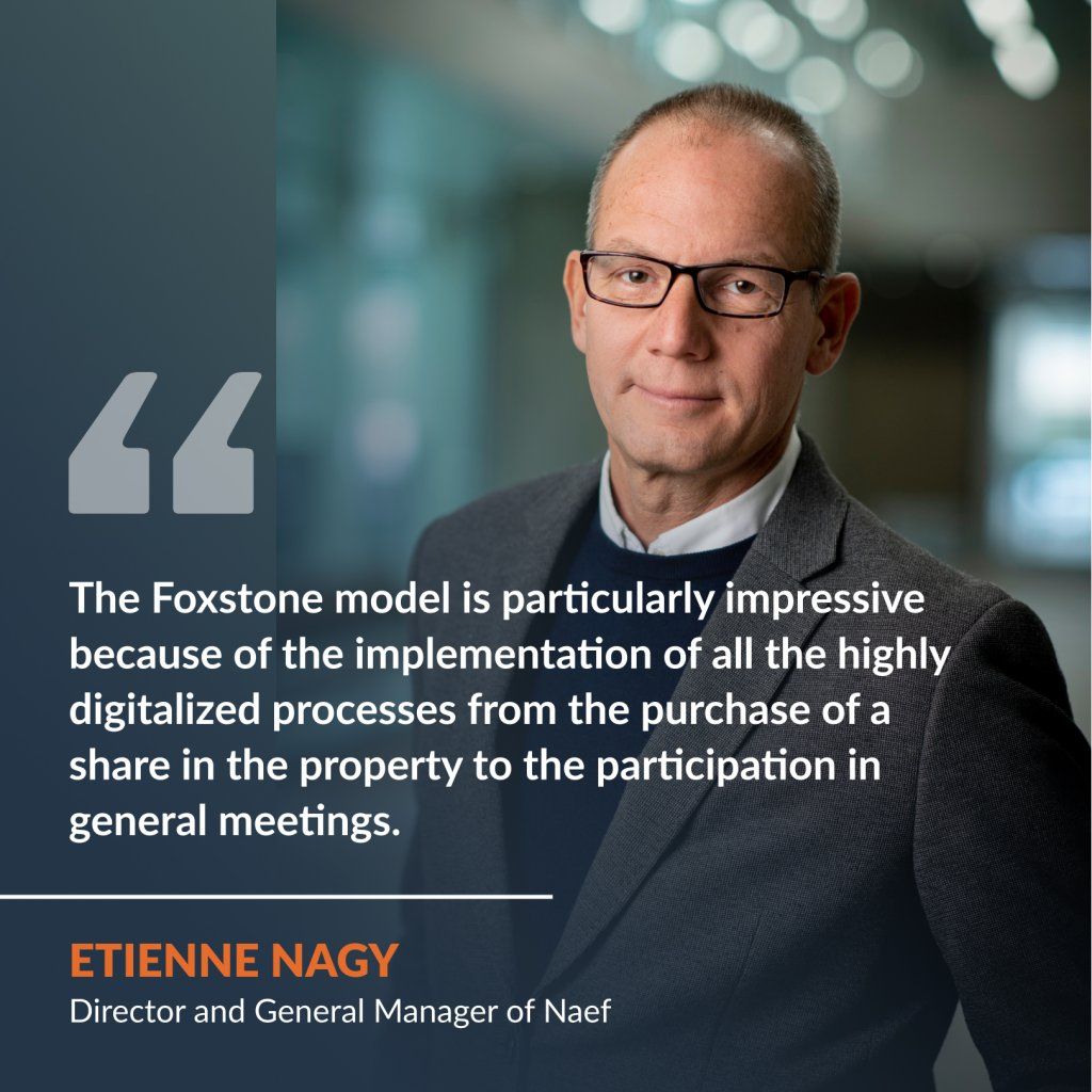 Interview with Etienne Nagy, Director and General Manager of Naef Immobilier