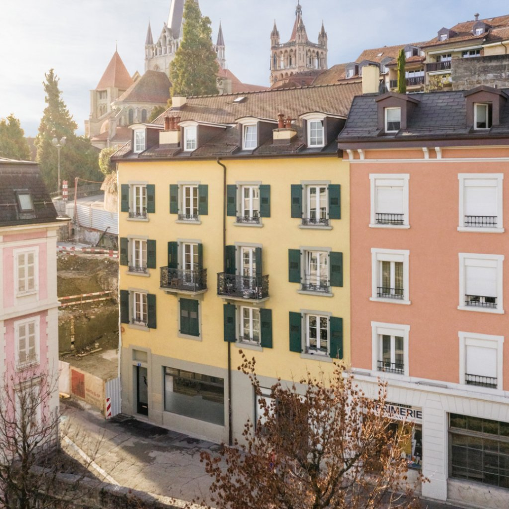 Buildings sold in crowdfunding in Lausanne and Avenches