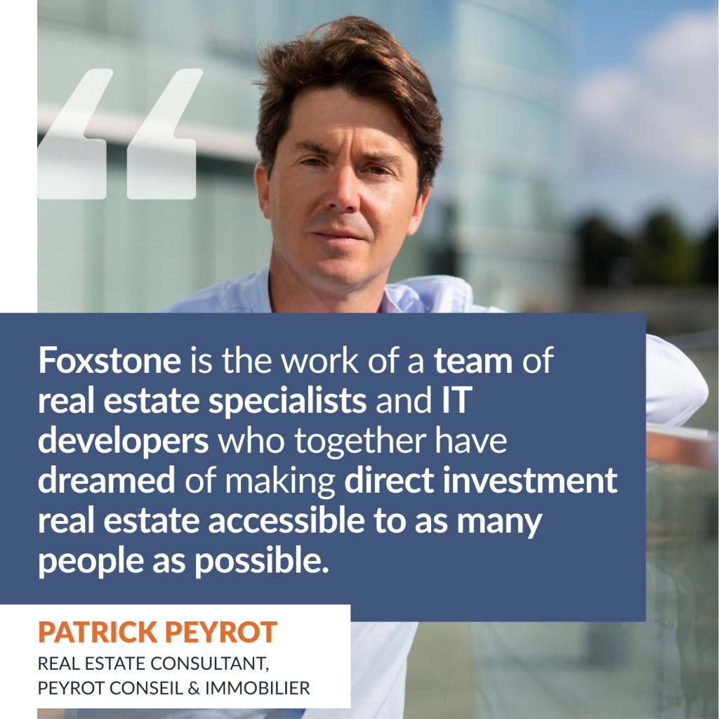 Interview with Patrick Peyrot, real estate consultant at Peyrot conseil & immobilier