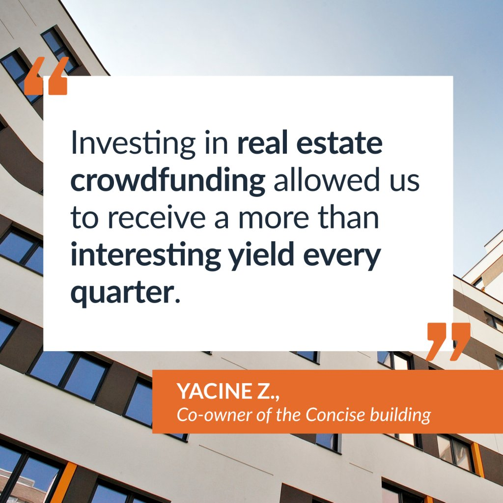 Testimony of Yacine Z., co-owner of the Concise building
