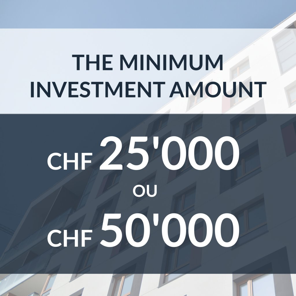 Minimum amount to invest in real estate crowdfunding with Foxstone