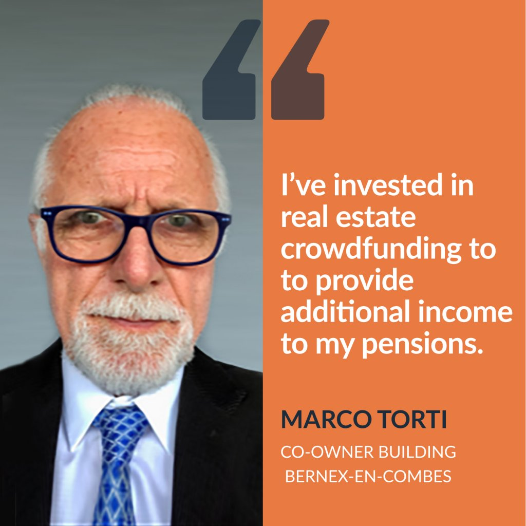 Testimony of Marco Torti, real estate investor in Bernex-en-combes