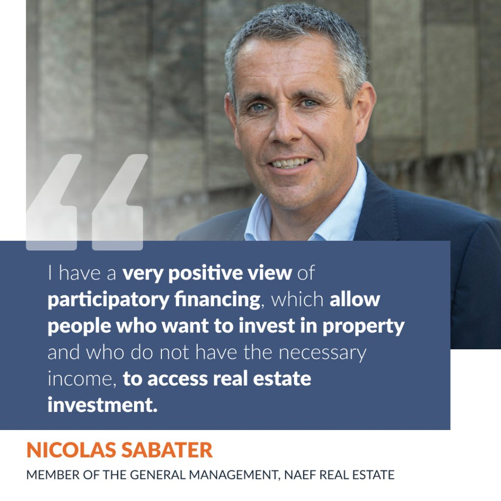 Interview with Nicolas Sabater, member of the General Management of NAEF Immobilier