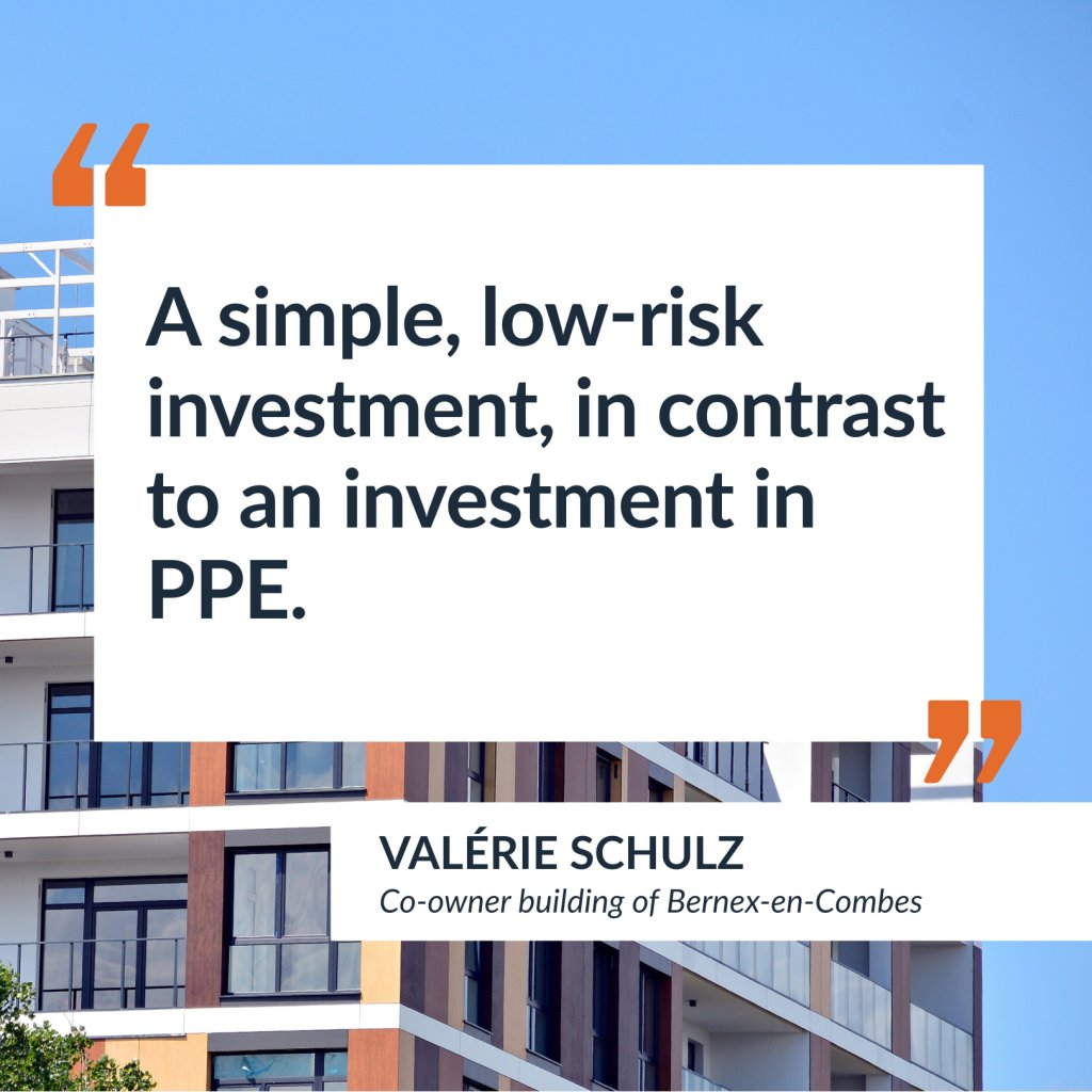 Testimony of Valérie Schulz, co-owner of the Bernex-en-combes building