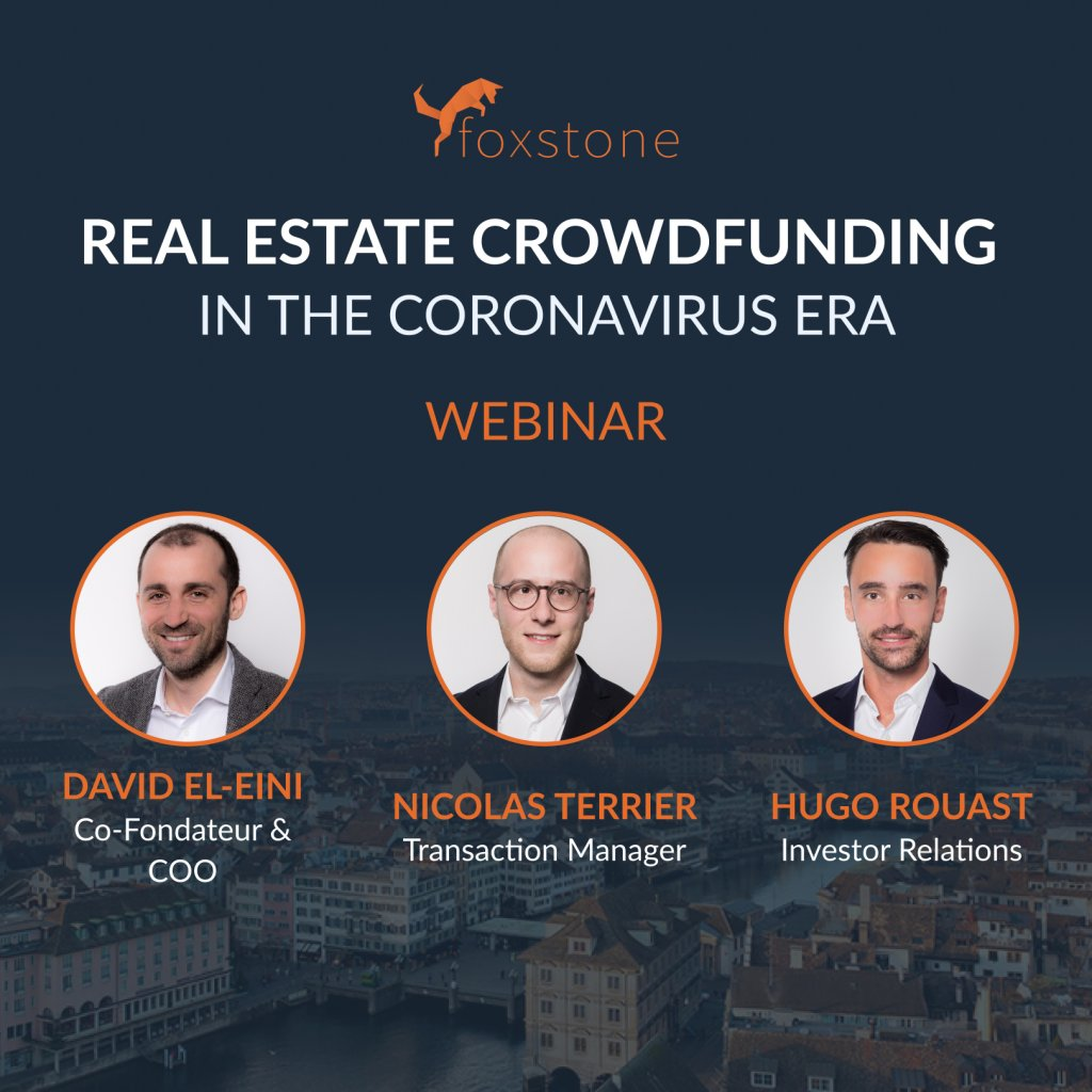 Foxstone Webinar on Real Estate Crowdfunding in Coronavirus Periods